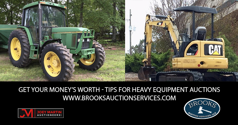 Get Your Money's Worth – Tips for Heavy Equipment Auctions