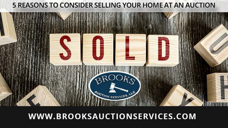 5 Reasons to Consider Selling Your Home at an Auction