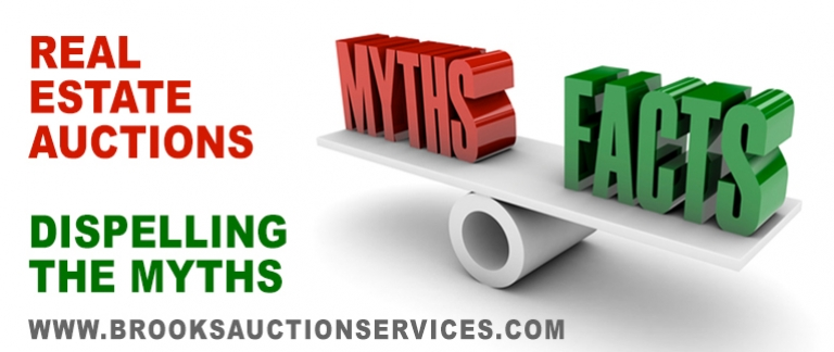 Top Myths About Real Estate Auctions