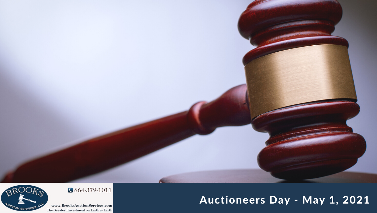 Auctioneers Day – May 1st